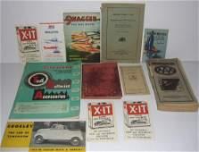 12 piece vintage ephemera lot