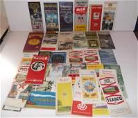 35  travel maps/brochures/pamphlets