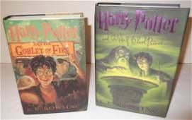 2 Harry Potter books
