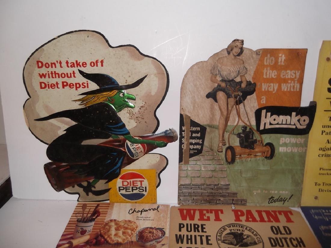 22 vintage advertising lot - 3