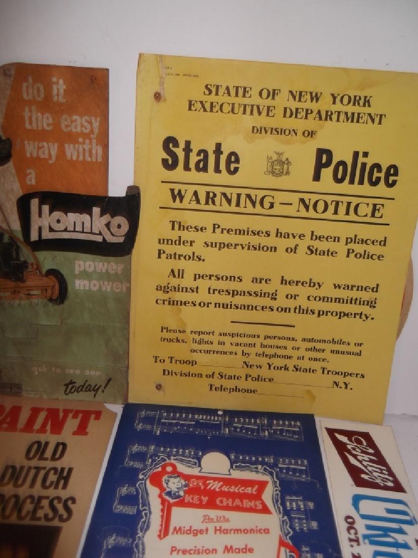22 vintage advertising lot - 4