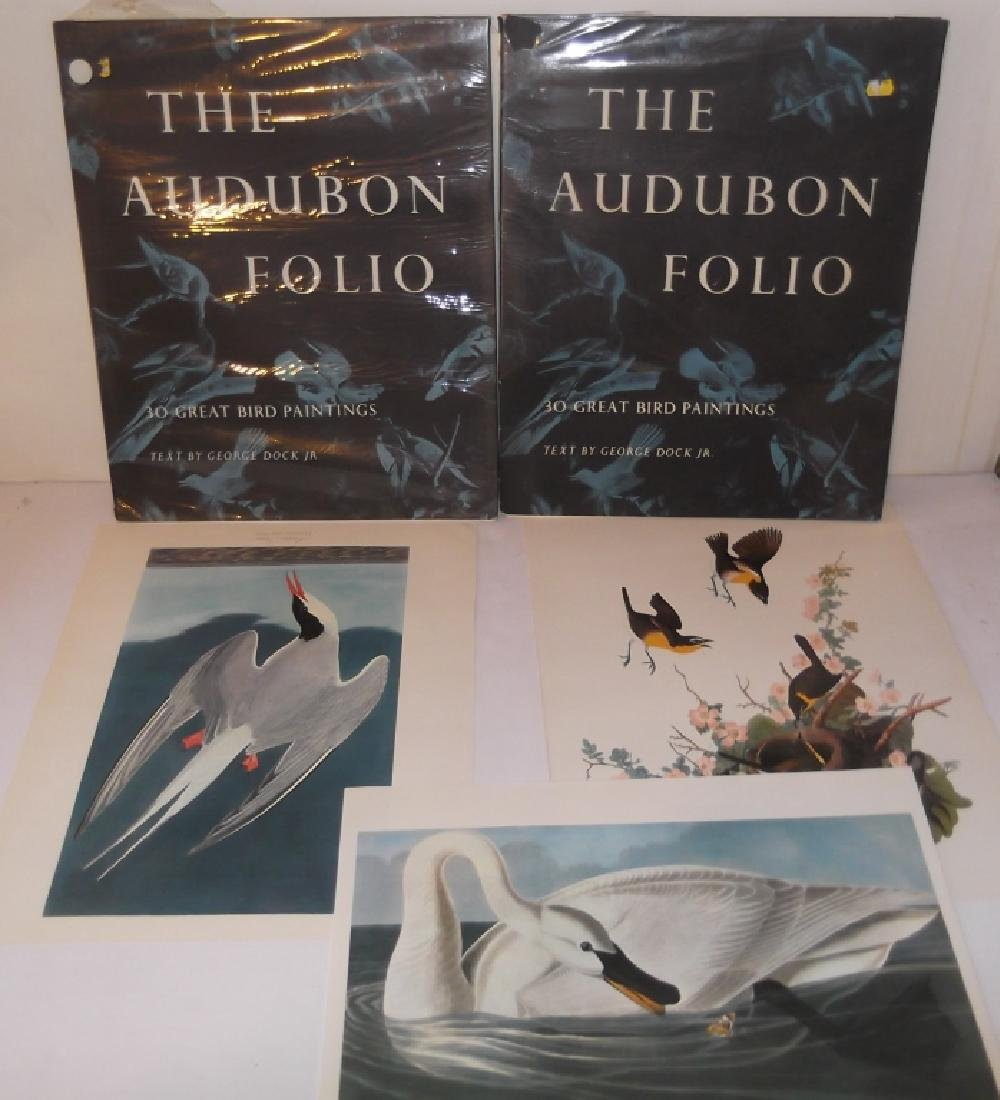 2  sets of The Audubon Foilo