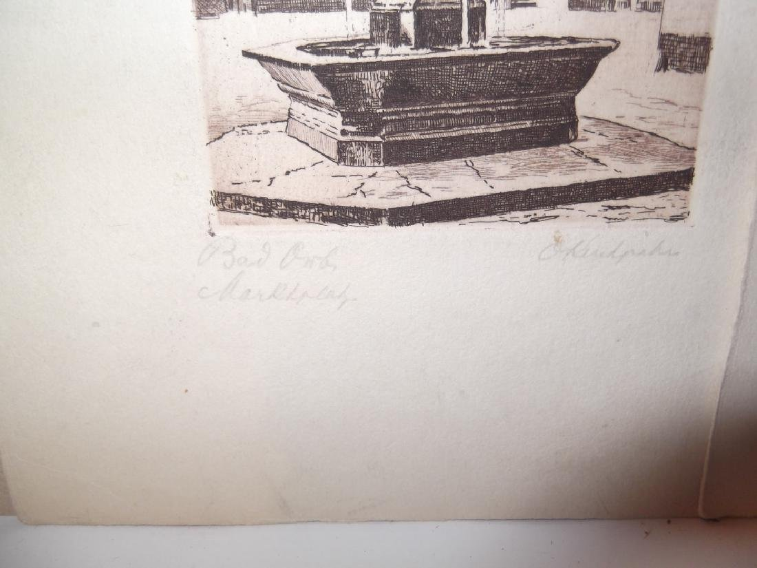 6 lithographs/etchings/engravings - 10
