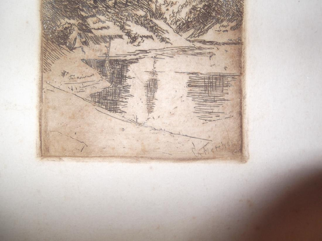 6 lithographs/etchings/engravings - 8