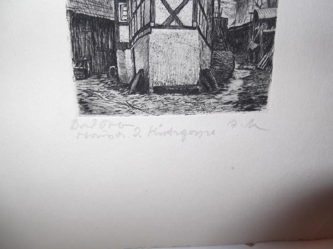 6 lithographs/etchings/engravings - 9