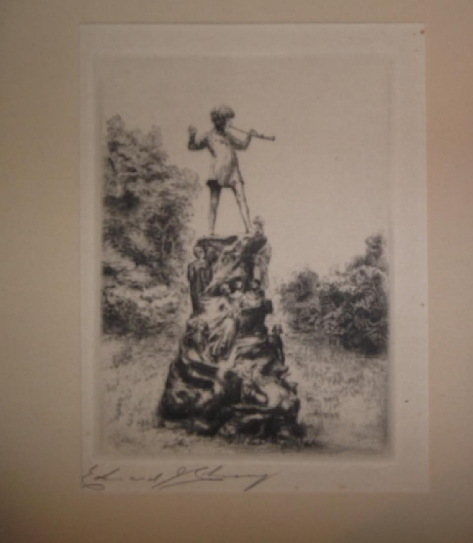 4 etchings/engravings - 5