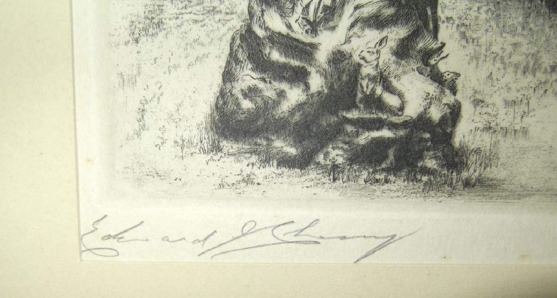 4 etchings/engravings - 6