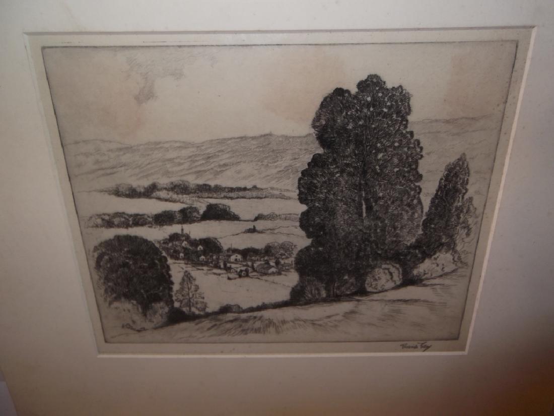 4 etchings/engravings - 7