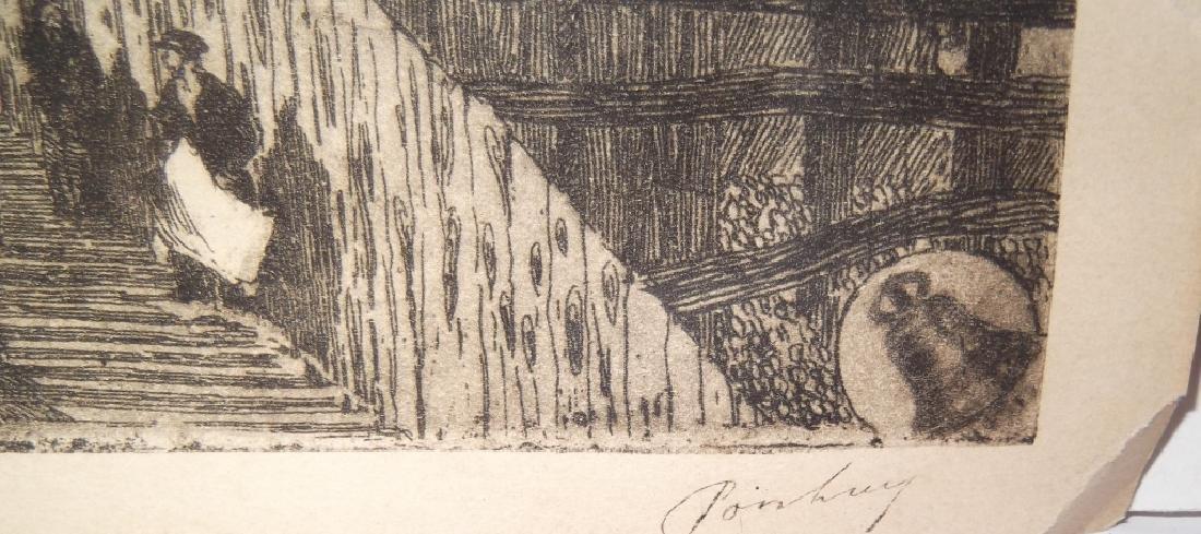4 etchings/engravings - 3