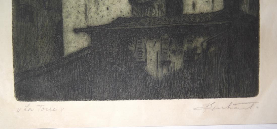 4 etchings/engravings - 9