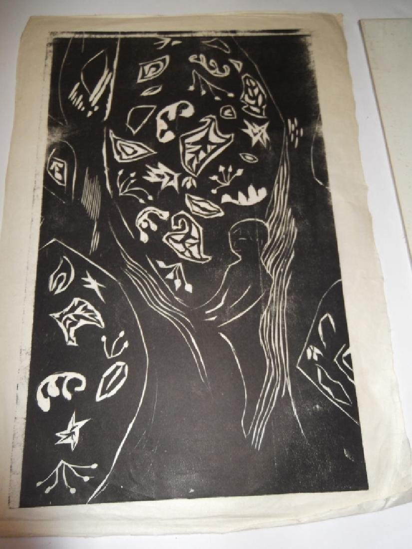 6 20th century lithographs/etchings/engravings - 10