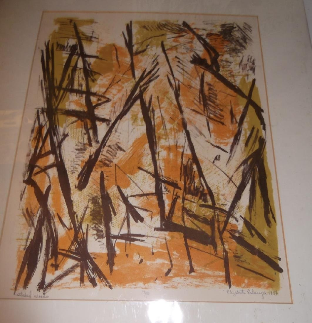 6 20th century lithographs/etchings/engravings - 5