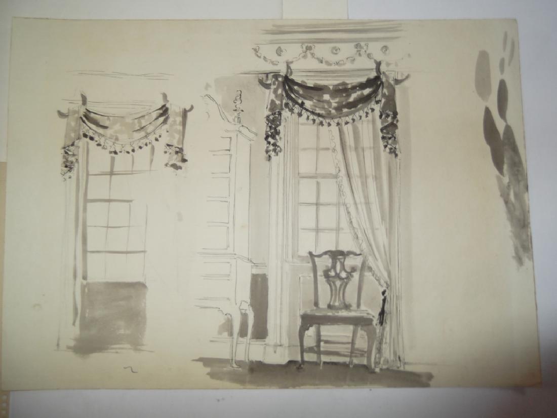 4 original illustration drawings - 6