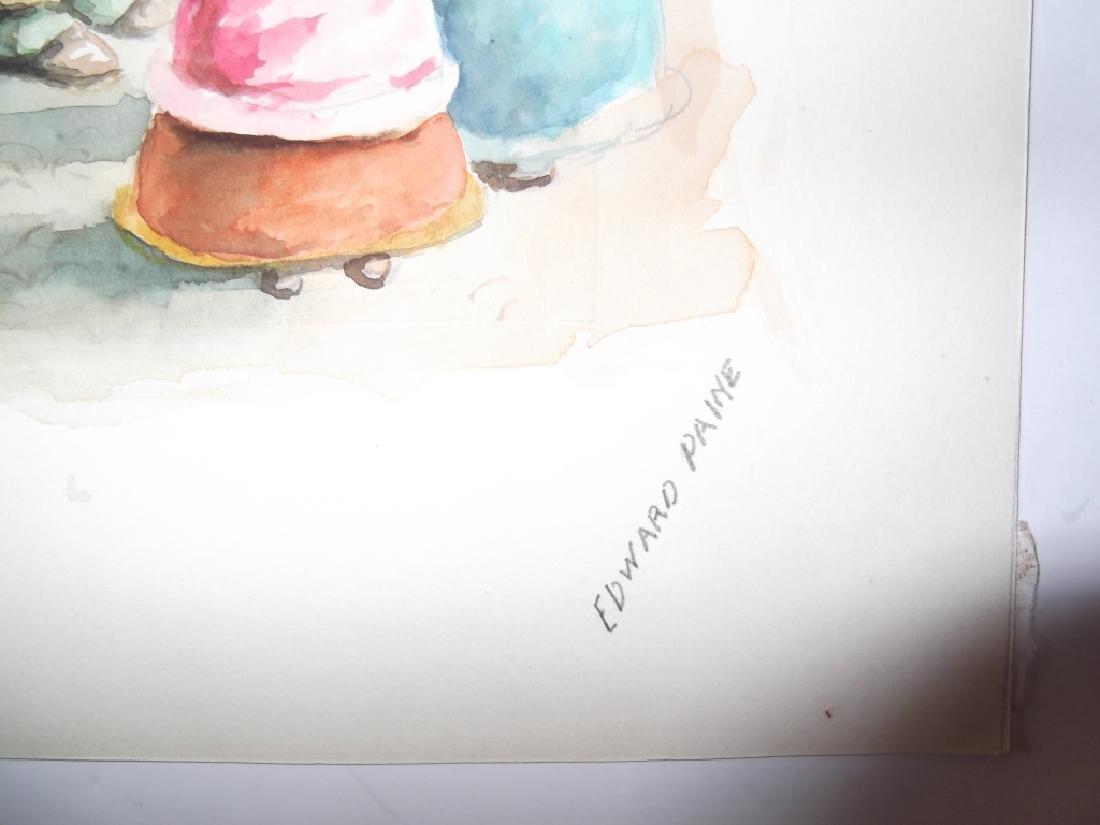 5 mixed media drawings - 6