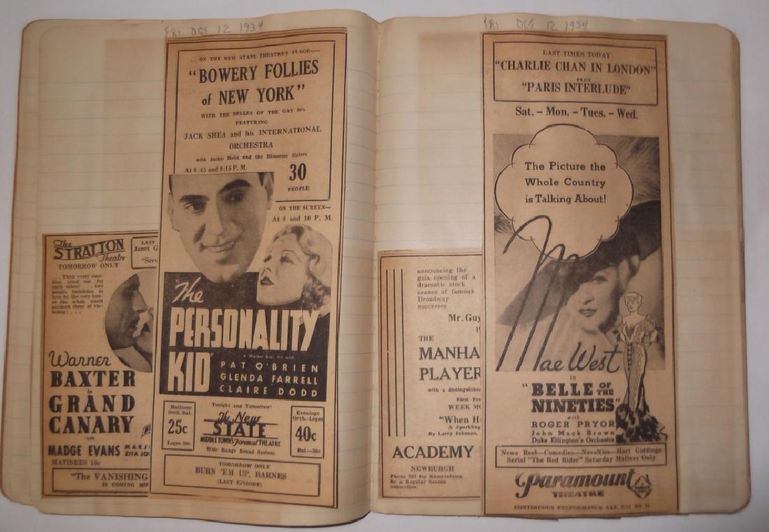 3 1934 movie scrapbooks - 10