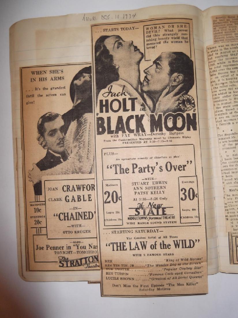 3 1934 movie scrapbooks - 11