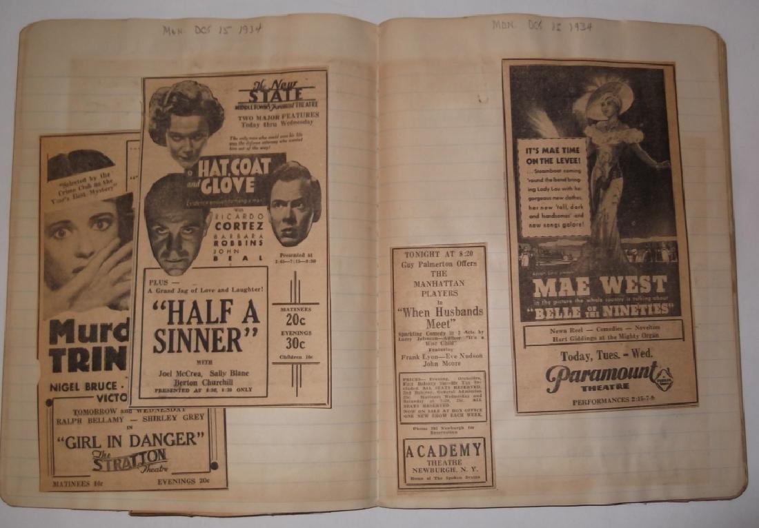 3 1934 movie scrapbooks - 12