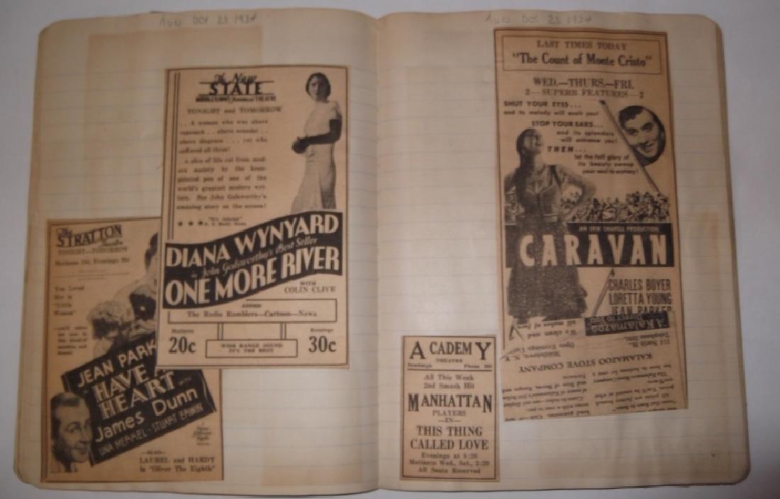 3 1934 movie scrapbooks - 13