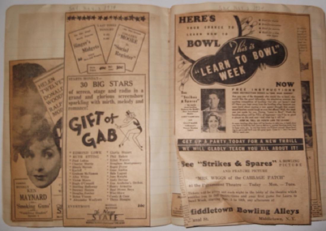 3 1934 movie scrapbooks - 14