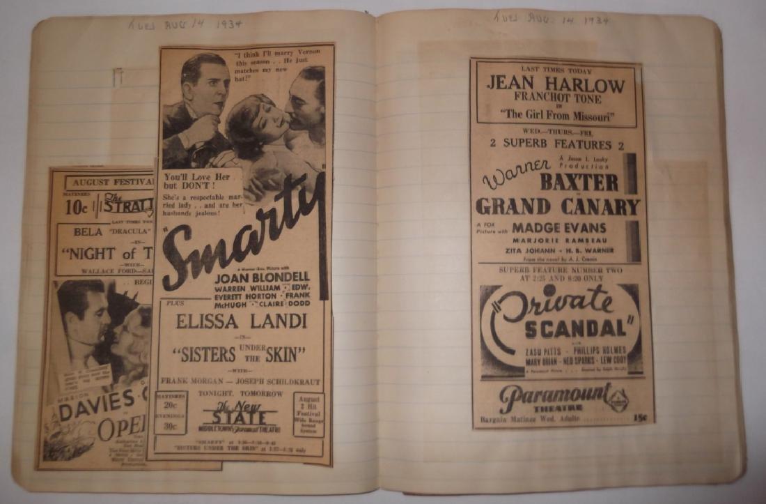 3 1934 movie scrapbooks - 16