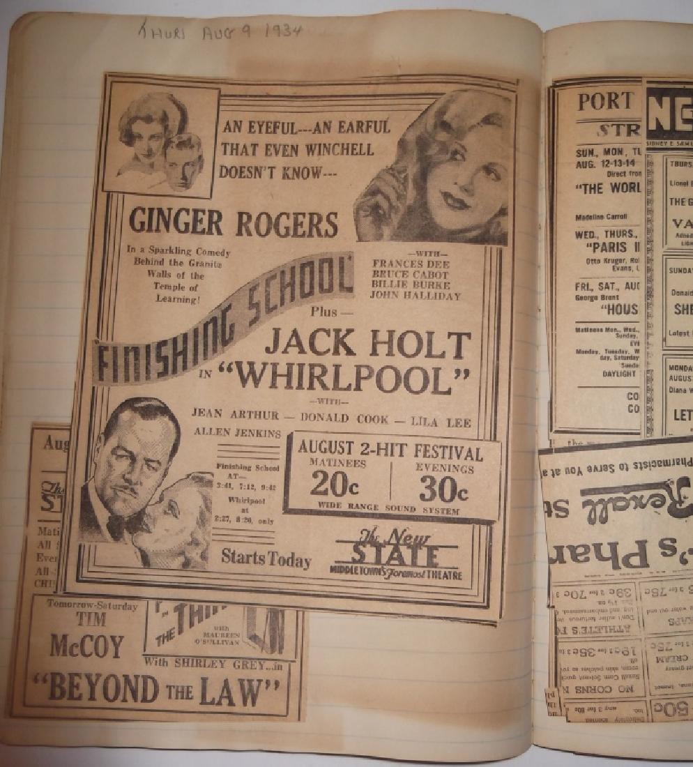 3 1934 movie scrapbooks - 17