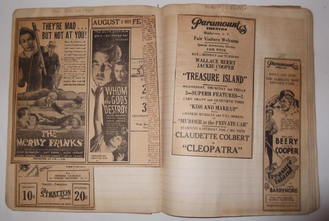 3 1934 movie scrapbooks - 20