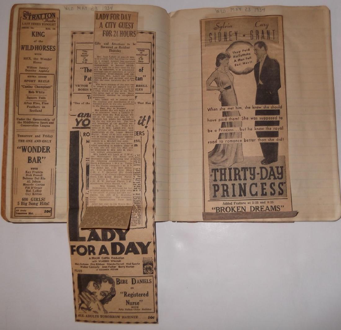 3 1934 movie scrapbooks - 4