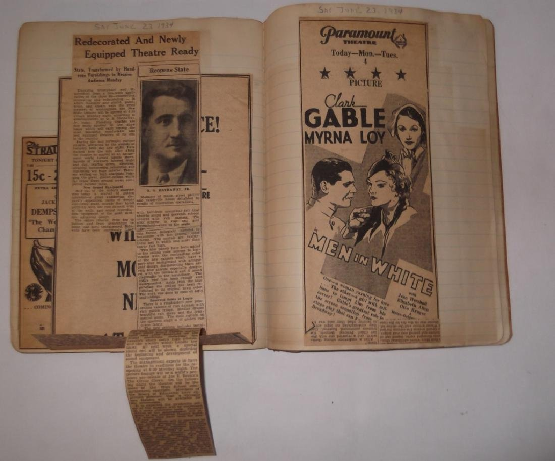 3 1934 movie scrapbooks - 6