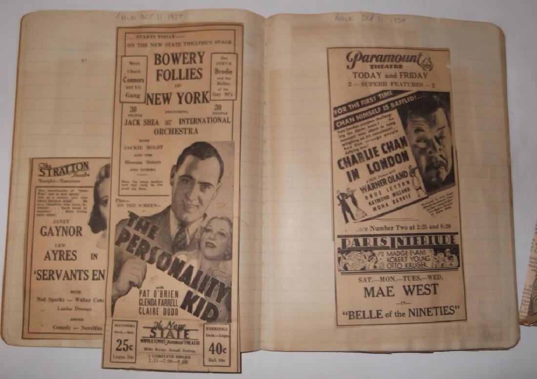 3 1934 movie scrapbooks - 9