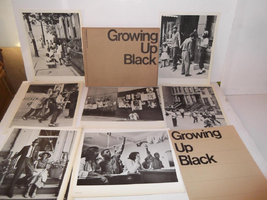 7 portfolio books of photo prints i