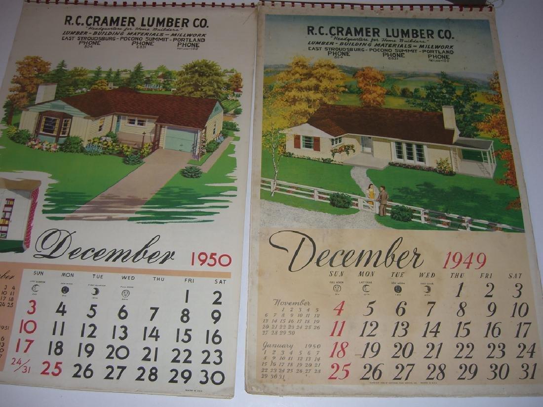 15 vintage advertising calendars - 10