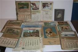 15 vintage advertising calendars
