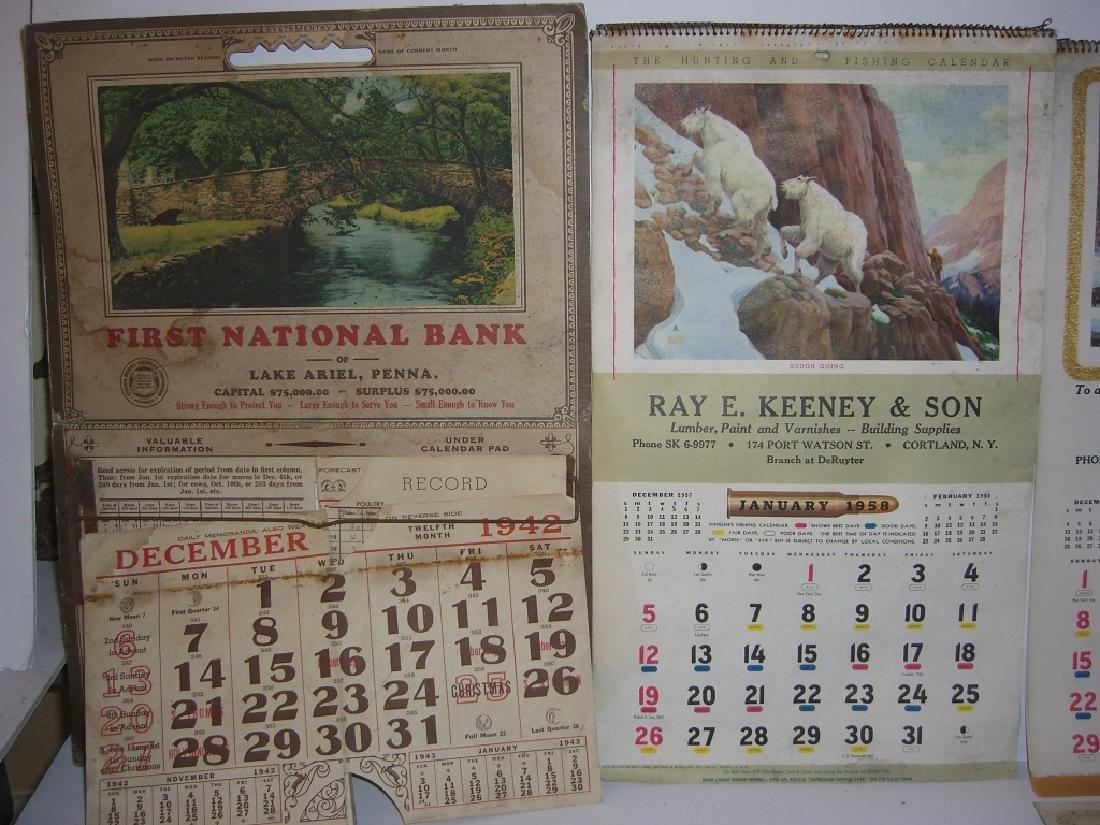 15 vintage advertising calendars - 3