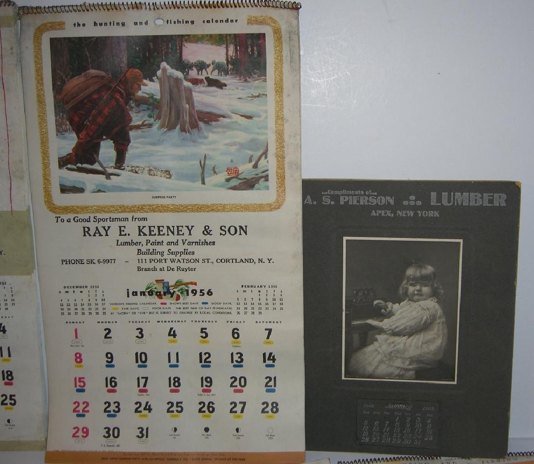 15 vintage advertising calendars - 4