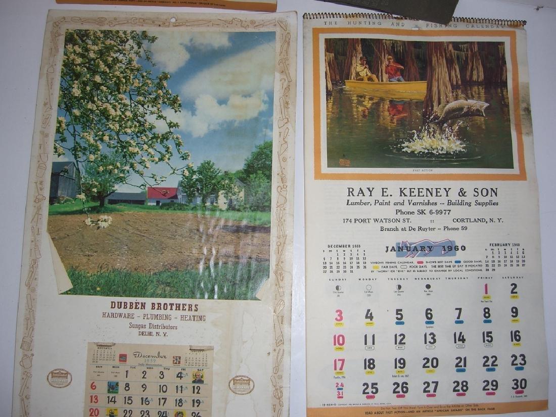 15 vintage advertising calendars - 5