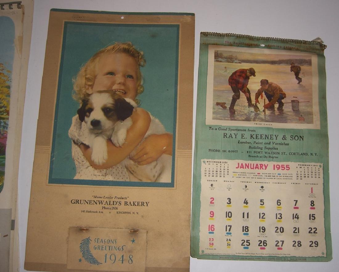 15 vintage advertising calendars - 6