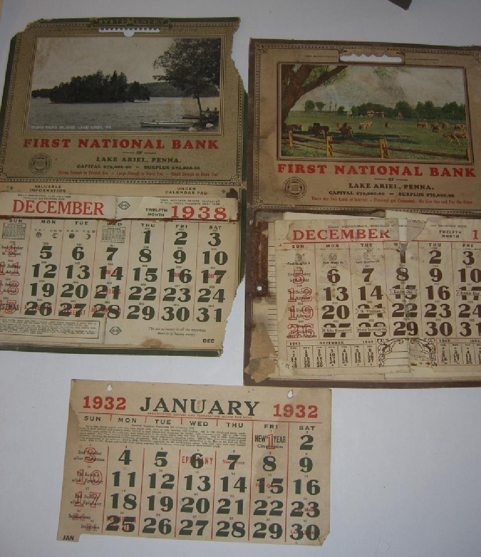 15 vintage advertising calendars - 8