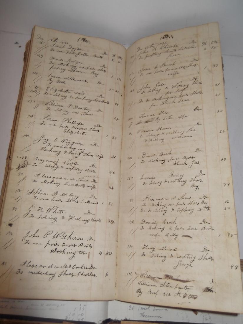 4 19th century  scrapbooks/ledgers - 2