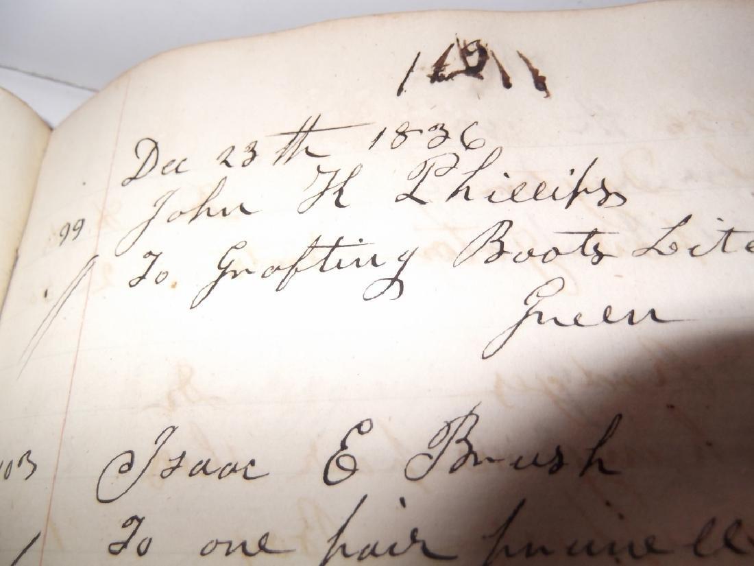 4 19th century  scrapbooks/ledgers - 3