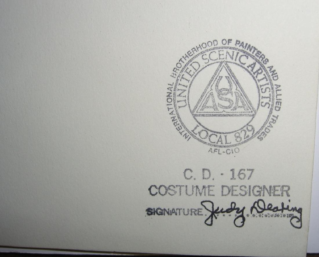 27 original costume illustration drawings - 2