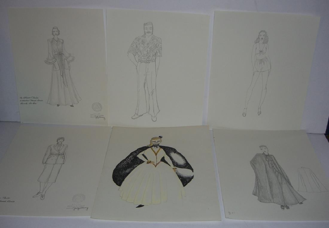 27 original costume illustration drawings - 4