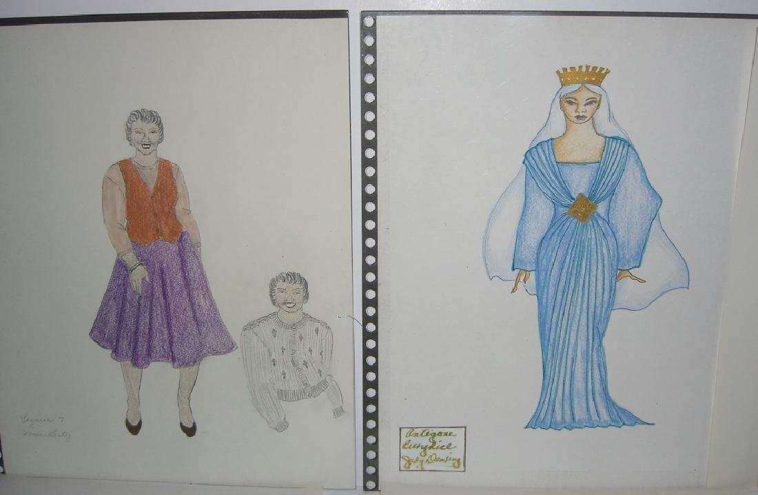 27 original costume illustration drawings - 5