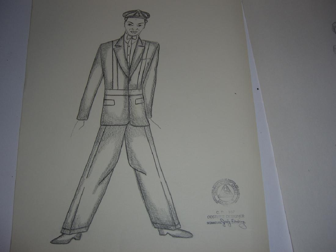 27 original costume illustration drawings - 6