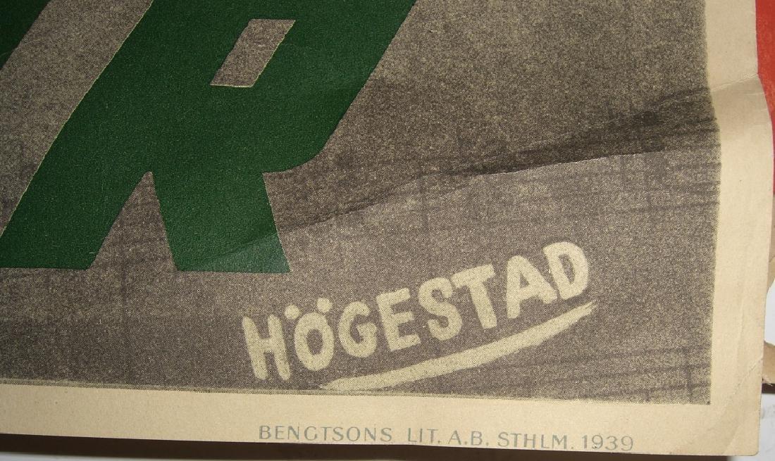 4 Skansen travel advertising posters - 10