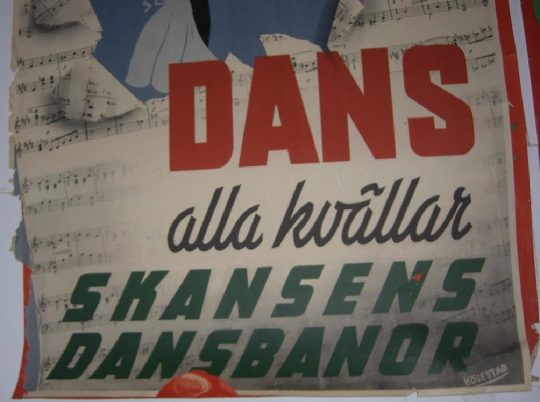 4 Skansen travel advertising posters - 4
