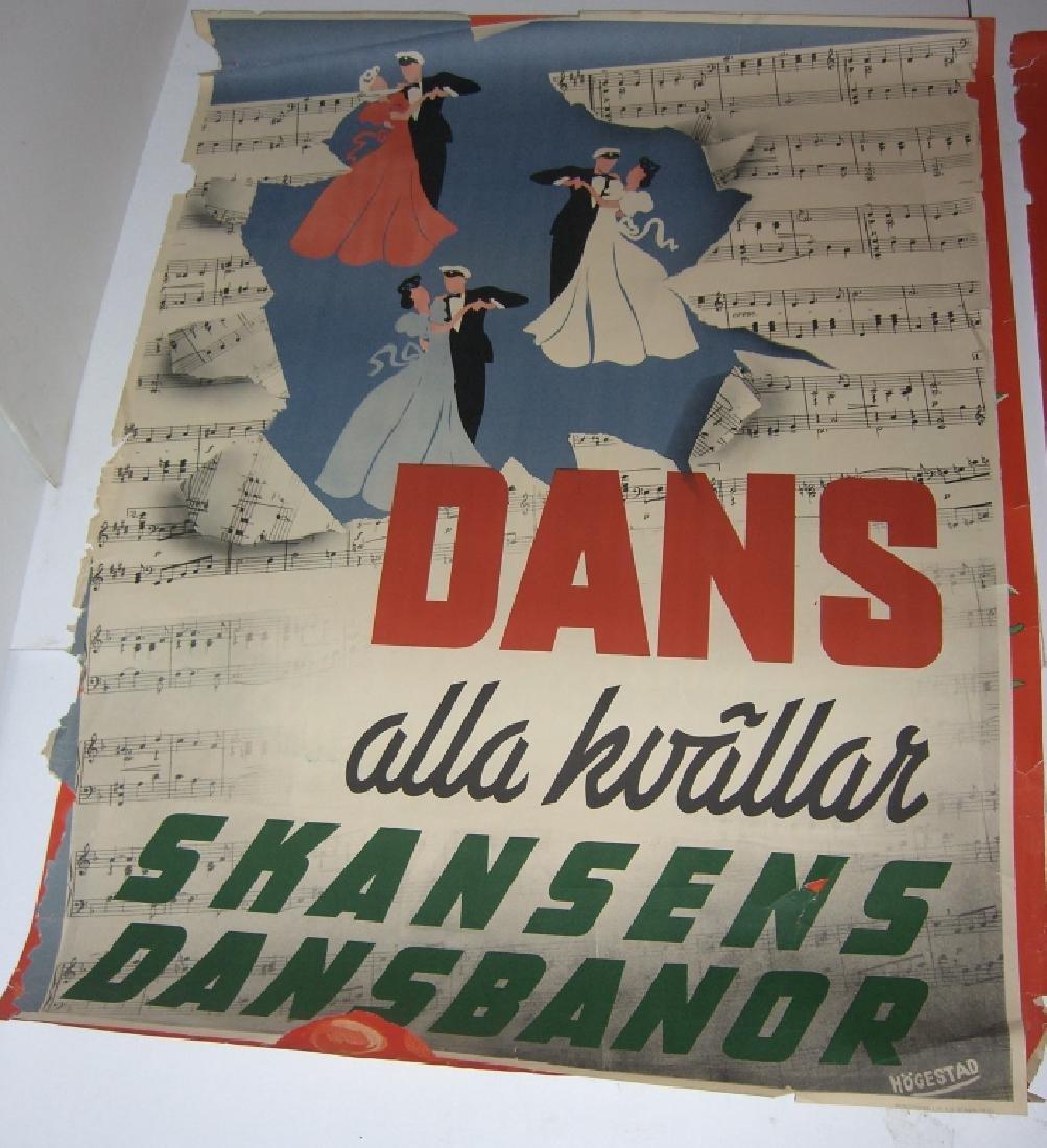 4 Skansen travel advertising posters - 5