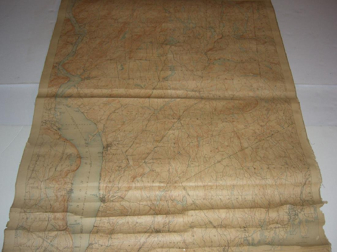 Hudson Valley New York pull down scroll map