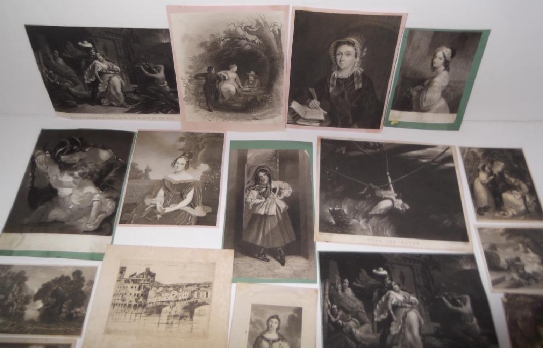 24 engravings/etchings - 2