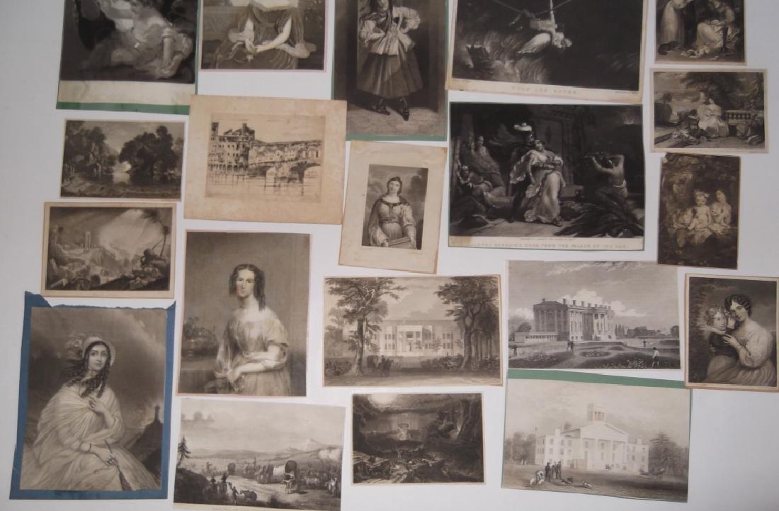 24 engravings/etchings - 3