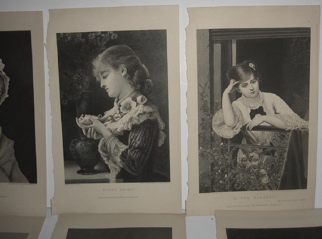25 antique engravings/etchings - 5